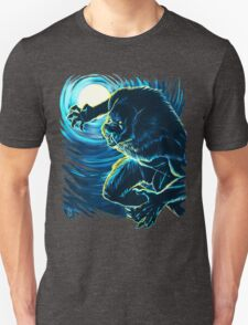 Blood Moon (Blue version) Unisex T-Shirt