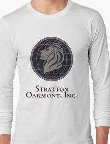 Wolf of Wall Street - Stratton Oakmont Inc Long Sleeve T-Shirt