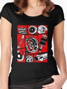 Car Culture Women's Fitted Scoop T-Shirt