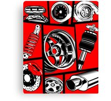 Car Culture Canvas Print