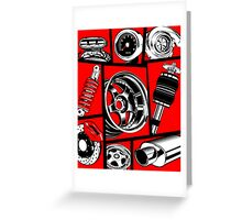 Car Culture Greeting Card