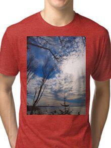Cloudscape Tri-blend T-Shirt