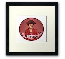 Freakshow Framed Print
