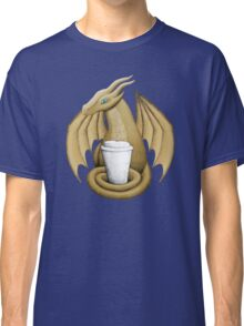 Latte Dragon (blue eye) Classic T-Shirt