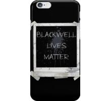 Blackwell Lives Matter iPhone Case/Skin