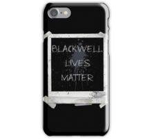 Blackwell Lives Matter iPhone Case/Skin