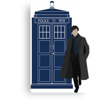 Dr. Who / Sherlock Canvas Print