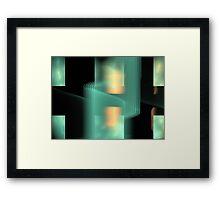 Sun Longitude Framed Print