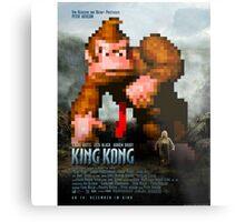 King Donkey Kong Metal Print