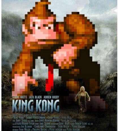King Donkey Kong Sticker