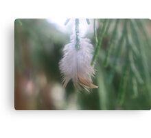 Feathery Joy Canvas Print