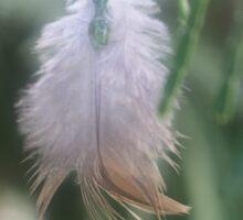 Feathery Joy Sticker