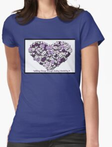 Have a heart Womens Fitted T-Shirt