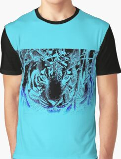 black tiger Graphic T-Shirt
