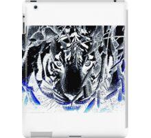 black tiger iPad Case/Skin