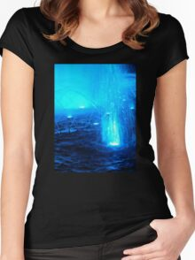 Blue Fountain Women's Fitted Scoop T-Shirt