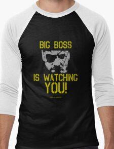 Big Boss Is Watching YOU! - Metal Gear Solid Design Men's Baseball ¾ T-Shirt