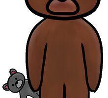 Teddy's Teddy by ColorCamilion