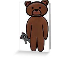 Teddy's Teddy Greeting Card