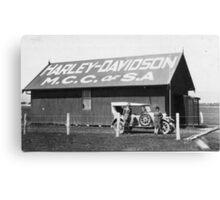 Harley Davidson MCC of SA Clubrooms 1926 Canvas Print