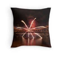 Star of Fire Throw Pillow