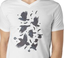 Flight of Ravens Mens V-Neck T-Shirt