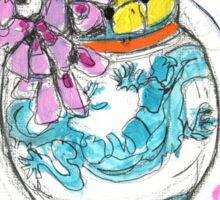 cornish vase 1 Sticker