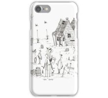 Wine tasting iPhone Case/Skin