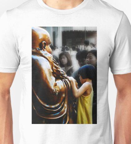 Touching Buddha Unisex T-Shirt