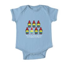Six out of seven dwarfs are highly intelligent One Piece - Short Sleeve