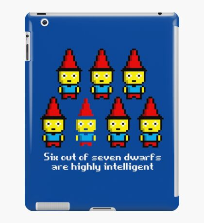 Six out of seven dwarfs are highly intelligent iPad Case/Skin
