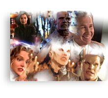 Buffy - Season 1-6 Big Bads Canvas Print