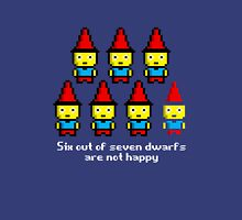 Six out of seven dwarfs are not happy Unisex T-Shirt