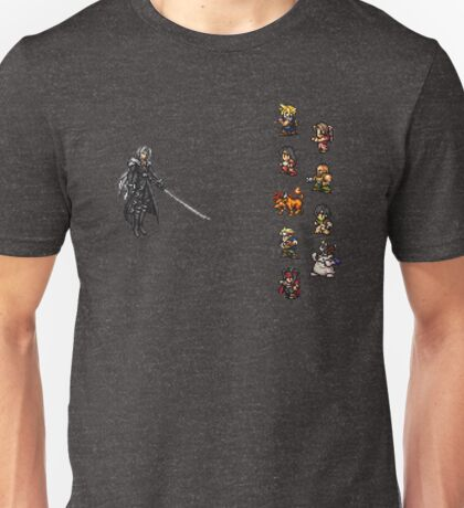 FFRK - Final Fantasy VII Final Fight - Avalanche vs Sephiroth (FF7) Unisex T-Shirt