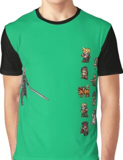 FFRK - Final Fantasy VII Final Fight - Avalanche vs Sephiroth (FF7) Graphic T-Shirt