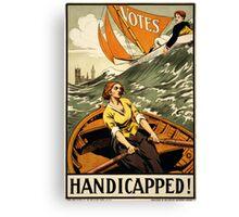 Handicapped! Canvas Print