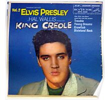 Elvis Presley King Creole Vol. 2 EP cover Poster