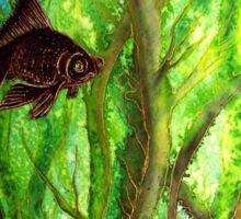 Fish - Amongst the Reeds  Sticker