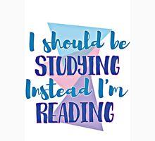 studying or reading Unisex T-Shirt