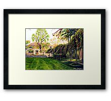 Everglades, Blue Mountains Framed Print