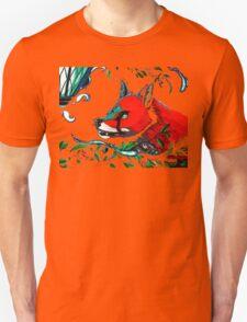Blue Fire Fox T-Shirt