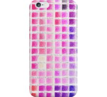 Crayon Color Chart iPhone Case/Skin