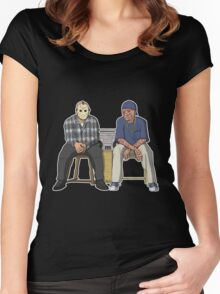 Friday (the 13th) Women's Fitted Scoop T-Shirt