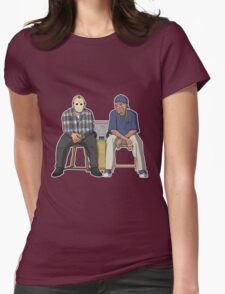 Friday (the 13th) Womens Fitted T-Shirt