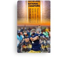 National Championships Notre Dame Canvas Print