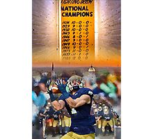 National Championships Notre Dame Photographic Print