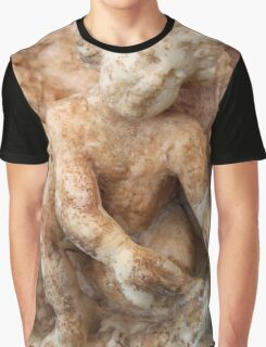 Ancient Marble Relief Of A Cherub Graphic T-Shirt