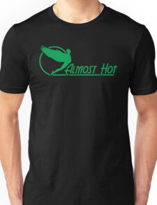 Almost Hot Beer Belly Angle Green Unisex T-Shirt