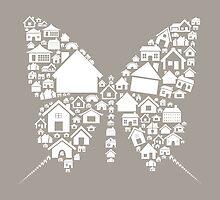 House the butterfly by Aleksander1