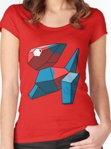 Porygon Women's Fitted Scoop T-Shirt